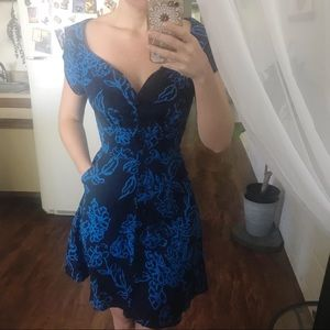 """NWOT Free People """"A Thing Called Love"""" Dress Blue"""